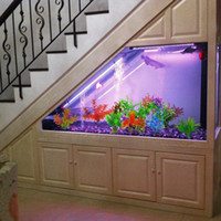 Wholesale home aquarium online - Artificial Aquarium Plants Small Size to inch Approximate Height Comsun Fish Tank Decorations Home Décor Plastic style