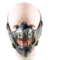 kölelik tasmalar toptan satış-Punk Motosiklet Maskesi Pu Deri Ağız Muffle Maske Toz Filtresi Tasma Bondage Sınırlamalar Spor Yüz Maskesi Yeni Ücretsiz Kargo
