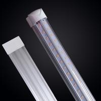 Wholesale wholesale daylight bulbs for sale - 25pcs box led tube t8 w tube V Shaped Integration T8 Double row Led light bulbs ft Ft ft ft ft ft Pure White K Daylight K