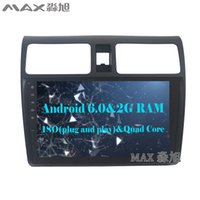 Wholesale Map Suzuki - 2G RAM+16G ROM Android 6.0 Car DVD Player for Suzuki swift 2005 2006 2007 2008 2009 2010 with BT SWC GPS map
