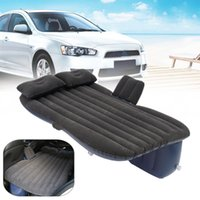 Wholesale Inflatable Mattresses - Outdoor camping Car Back Seat Cover Air Mattress Travel Mat Bed Inflatable Mattress Air Inflatable Car Bed with Pump