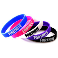 Wholesale cosplay wristband for sale - Cosplay Fortnite Wristbands FORTNITE Bracelets Kids Birthday Party Favors Fortnite Silicone Wristband colors