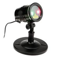 lanterna led usa venda por atacado-LED Stage Iluminação Lanterna Lanterna Laser Efeito de Palco de Controle Remoto Vermelho Verde Laser Lanterna Comercial Iluminações Decorativas