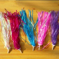 Wholesale bicycles for children - Children Bike Bicycle Cycling Tricycle Kids Girls Boys Handlebar Streamers Tassels Gifts For Kid Exquisite Hot Sale 1yj aa