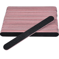 Wholesale x files resale online - 5 x Grey Nail Files Sanding Nail Buffer for Art Tips Manicure Pedicure