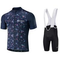 cycling jerseys sets Australia - 2018 Men Summer Short Sleeve Bike Bib Shorts Cycling Jersey Bicycle Shirt Wear Clothes Mountain Cycle Clothing Set