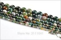 grüne achat lose steine großhandel-Indien Achat grün 4-20mm Runde 15