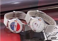 kadın kuvars bilekliği bayanlar elmas taklidi saatler toptan satış-Süper Hediye Yeni Üst Marka Lüks Çelik Hasır Saatler Kadınlar Rhinestones Bayanlar Kol Saatleri Altın Yuvarlak Analog Kuvars Saatler