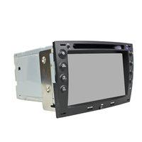 volante renault venda por atacado-Leitor de DVD Carro para RENAULT Megane 7 inch 2 GB de RAM 8-core Andriod 6.0 com GPS, controle de volante, Bluetooth