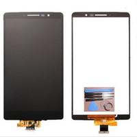 painel de exibição oem lcd venda por atacado-Tela de exposição móvel Lcd das peças de substituição do OEM do conjunto do digitador Lcds do painel do toque para LG G4 Stylus LS770 H540