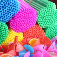 ingrosso tessuti rosa artigianali-100pcs / lot 27cm variopinto Balloon Accessories Balloon Holder Sticks con le tazze di ispessimento di alta qualità Rifornimenti del partito Decorazione Spedizione gratuita