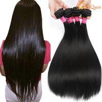 Wholesale Weaves Brazilian Hair Grades - Grade 8A Mink Brazilian Straight Hair Unprocessed Brazilian Virgin Human Hair Weave Bundles 100% Brazilian Vrgin Hair Straight