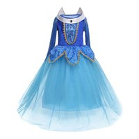 Wholesale fancy kids wear - Tulle Princess Girl Prom Dress Cosplay Disguise Costume Fancy Kids Party Wear Dresses For Teenager Girl Cosplay Costume