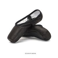 Wholesale d squared shoes for sale - Sansha Ballet Pointe Shoes Satin Upper With Ribbon Girls Women Professional Dance Toe Shoes with Gel Silicone Toe Pads SP1 Black