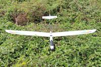 kits de aviones modelo rc al por mayor-Avión RC U-Glider Resistente a la rotura con alerón EPO espuma R / C modelo de control de radio avión acrobacia instalada avión, PNP y KIT