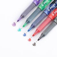 padrões de caneta de gel venda por atacado-Japão Piloto P500 / P700 RollerBall Gel Caneta 0.5mm / 0.7mm material escolar escola papeleria papelaria padrão de tinta bb1710075