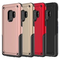 Wholesale Hard Plastics - For Samsung S9 Case Hybrid soft TPU Hard PC Back Cover For Samsung Galaxy S9 S9plus