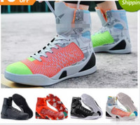 cc024b2146f 2018 Cheap Sale kobe 9 IX High Weaving BHM Easter Christmas Mens Basketball  Shoes for AAA+ quality KB 9s Designer Sports Sneakers Size 40-46