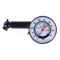 medidor de pressão do carro venda por atacado-Plástico Medidor de Pressão Dos Pneus Do Carro AUTO Medidor de Pressão de Ar Tester Ferramenta de Diagnóstico Teste de Reparo Do Carro