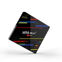 Wholesale android tv box play store online - 2018 Android Smart TV Box Rockchip RK3328 GB GB Support K with Google Play Store Netflix Youtube H96 Max Plus