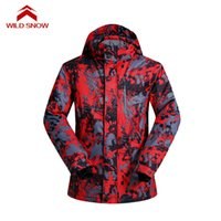 Wholesale european clothing men jacket - Snow boarding ski jacket Outdoor Clothing European and American style Thermal windproof Snow Jacket waterproof Warm Skiing Coat