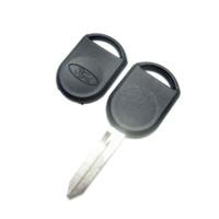 concha chave em branco venda por atacado-Remoto Transponder Key Shell Para Ford Lincoln Mercury Uncut Caso Em Branco Chave (pode instalar o chip) Sem Chip