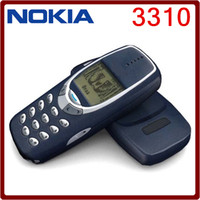 Wholesale Cheap Unlock Phone - Refurbished Original NOKIA 3310 Cell Phone GSM 900 1800 DualBand Games 4 Unlocked Cheap nokia phone
