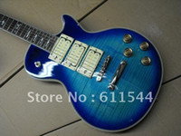 Wholesale guitar - New Arrival Bule ACE Frehley Kiss Electric Guitar In Stock