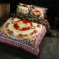 ingrosso farfalla comforter piena-La nuova biancheria da letto del leone del cotone di progettazione del letto del letto ha messo per la camera da letto