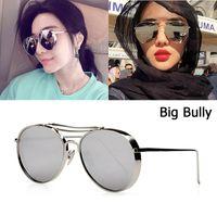 baaf9d1e43819 JackJad 2018 New Fashion Big Bully Aviation Style Sunglasses Women Men  Brand Design Thick Metal Frame Sun Glasses Oculos De Sol