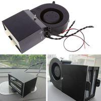 Wholesale ptc heater - DC12V Adjustable 350W 500W PTC Ceramic Car Heating Heater Hot Fan Defroster Demister Car Electrical Heating Fans Instant