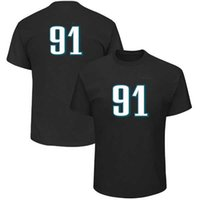 Wholesale Eagle Shirts - american football champions Philadelphia T-shirt 9 Nick Foles 11 Carson Wentz Eagle 17 Alshon Jeffery 20 Brian Dawkins 91 Cox tee