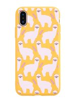 Wholesale apple animal cases for sale - Cut animal Yellow phone case for iphone XR s SE s sp p p and iphone X