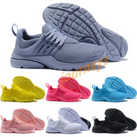 Wholesale discount man winter boot for sale - 2018 Discount Presto Grey purple pure white Ultra Runner Men s Women s running shoes Classic Sport Sneakers