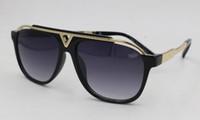 stores de plage pour hommes achat en gros de-Homme et femme d'été unisexe exquise vintage lunettes de soleil lunettes de soleil conduite plage lunettes lunettes UV400 noir livraison gratuite