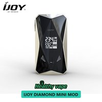 Wholesale large mods for sale - 2018 IJOY Diamond Mini w TC Box MOD with High Performance VW TC Modes Large OLED Display Without Battery