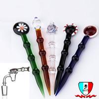 стиль здоровья оптовых-Стекло dabber с 5 стиль стекла карандаш dabber здоровья камень трубы масло dabber для водопроводной трубы