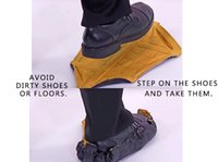 Wholesale Automatic Steps - Environmental protection repeatedly slippers Quick automatic shoe cover New home decoration Cleaning labor workers Step In Sock Shoe Covers