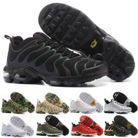 Wholesale Famous Leather Shoes - 2018 New Free Shipping Famous Plus TN Ultra Women Mens Sports Athletic Running Shoes Sports Shoes Sneaker Trainers shoes Size 36-46
