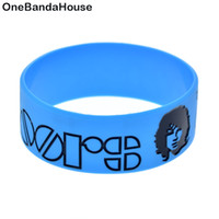 Wholesale door gift for christmas - 50PCS Lot 1 Inch Wide The Doors Silicone Wristband Rock Style Band Perfect Gift for Music Fans