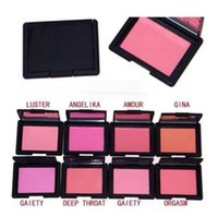Wholesale baked goods - FREE SHIPPING good quality Lowest Best-Selling blush bronzer Baked Cheek Color blusher palettes , different color fard a joues poudre 4.8g