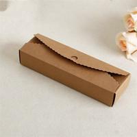 ingrosso torta regalo quadrato-Torta nuziale Kraft Confezioni regalo Confezione regalo di alta qualità Pieghevole carta Fatta a mano Eco-friendly Confezione quadrata Stoccaggio Fai da te 0 5 cm jj