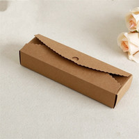 Wholesale wrap cake online - Wedding Cake Kraft Gift Boxes High Quality Gift Wrap Folding Paper Handmade Eco Friendly Square Packing Box Storage Diy cm jj