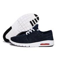 tasarlanmış erkek ayakkabıları toptan satış-Sıcak Satış Yeni Tasarım SB ayakkabı Stefan Janoski Kadınlar ve Erkekler Açık Rahat Ayakkabılar Boyutu 36-45 Zapatillas Koşu ayakkabı