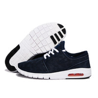 zapatos de hombre diseñados al por mayor-Zapatos calientes del nuevo diseño SB Stefan Janoski mujeres y los hombres al aire libre Zapatos ocasionales del tamaño 36-45 Zapatos Zapatillas para correr