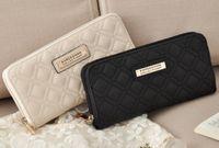 Wholesale Long Satin Bags - Hot Selling Kk Wallet Long Design Women Wallets PU Leather Kardashian Kollection High Grade Clutch Bag Zipper Coin Purse Handbag