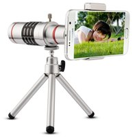 Wholesale asus camera resale online - Universal Clip On X Telephoto Lens Mobile Phone Optical Zoom Telescope Camera For iPhone Sumgung HTC Asus JT11