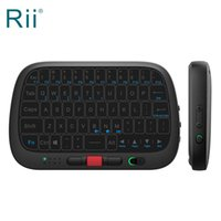 Wholesale mini pc i5 for sale - Group buy Original Rii i5 RT725 Mini G Wireless Full Touchpad Mini Keyboard and Mouse Combo for Android TV Box PC Laptop
