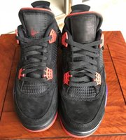 Wholesale outdoor volleyball ball for sale - 2018 Dernières IV Raptors Chaussures Basket ball Shoes s Black University Red Court Purple Logo Mens Outdoor Sneakers Trainers With Box