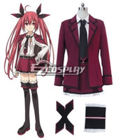 Wholesale kotori anime for sale - Group buy New Anime Date A Live Itsuka Kotori Efreet Cosplay Costume